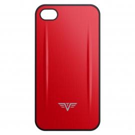 Coque Iphone 4/4S Shell Tru Virtu Rouge