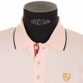 Polo Best mountain en jersey de coton saumon