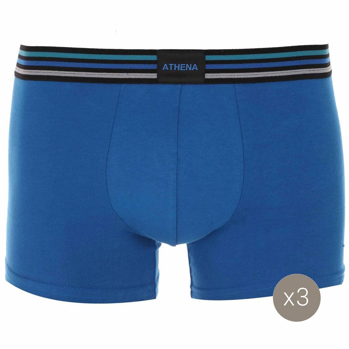 boxers athena en coton stretch