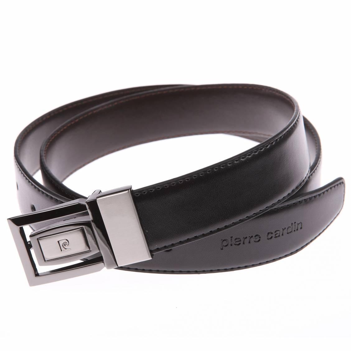 ceinture pierre cardin en cuir réversible