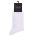 Chaussettes en fil d'écosse Blanc