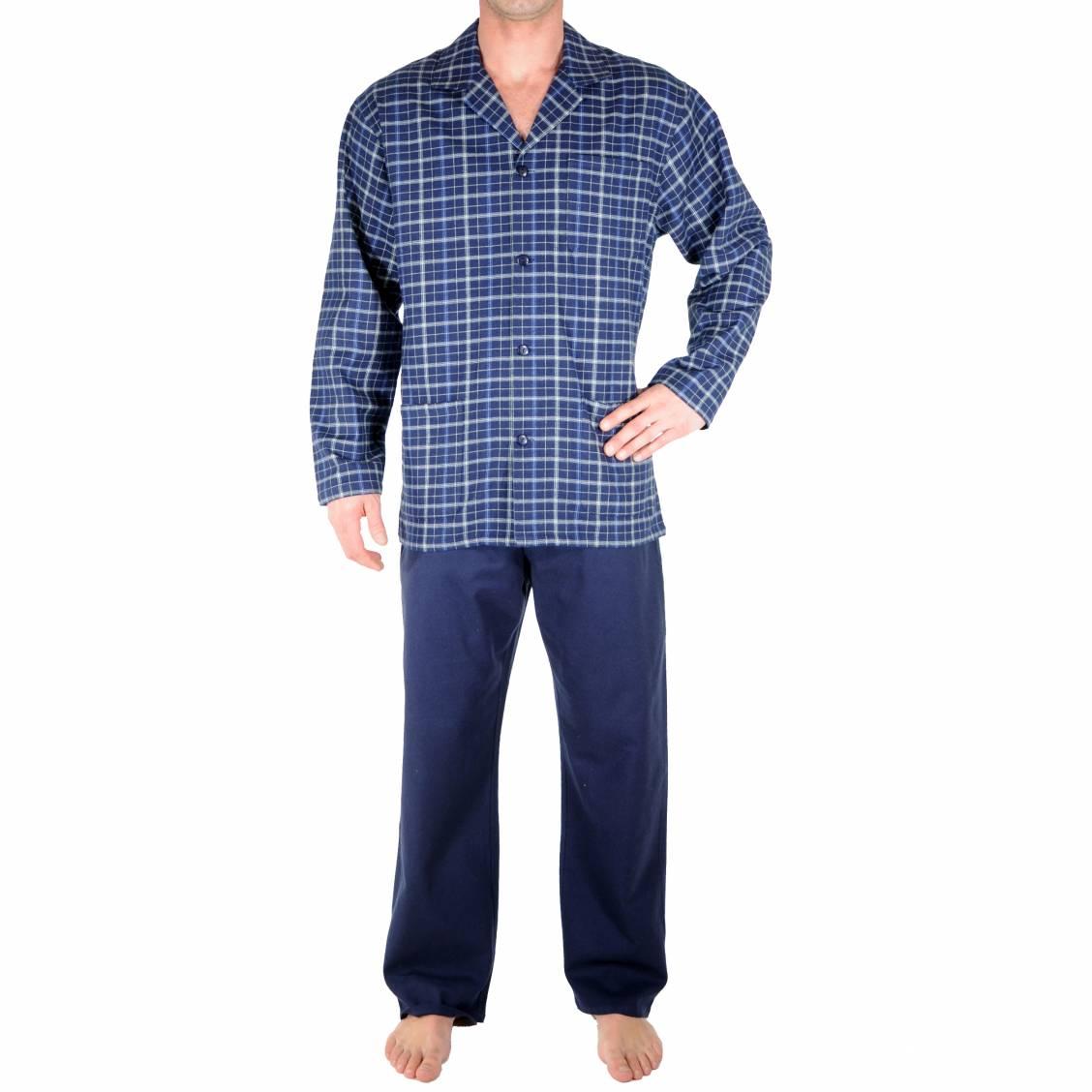 Pyjama chaud vente en ligne de pyjamas d 39 hiver homme for Pyjama homme carreaux