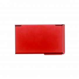 Porte-cartes de visite Ogon One touch rouge