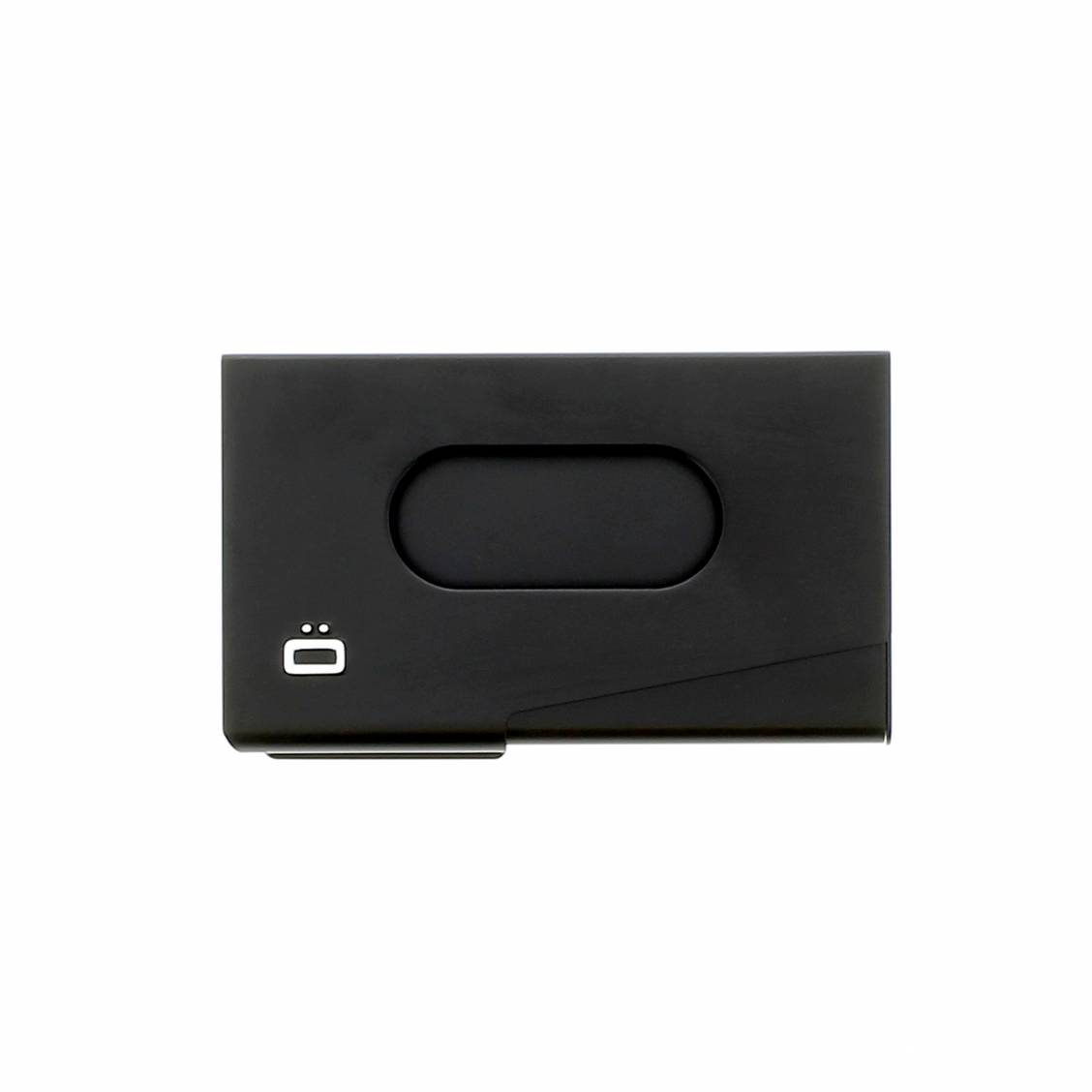 Porte-cartes Ogon One touch noir