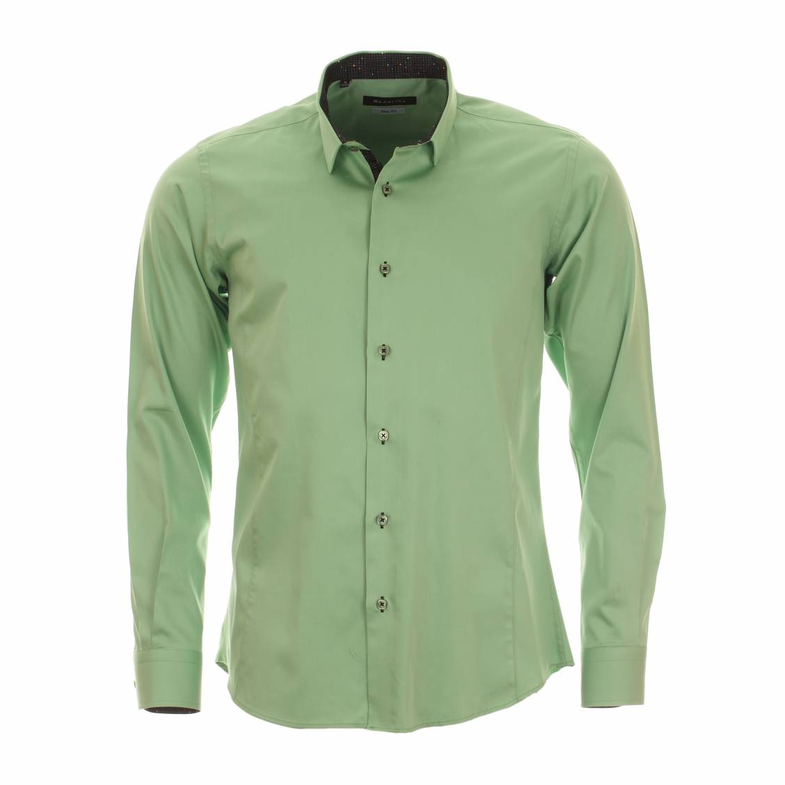 chemise cintrée vert pomme