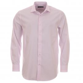 chemise homme cotton park ajust e en coton rose p le. Black Bedroom Furniture Sets. Home Design Ideas