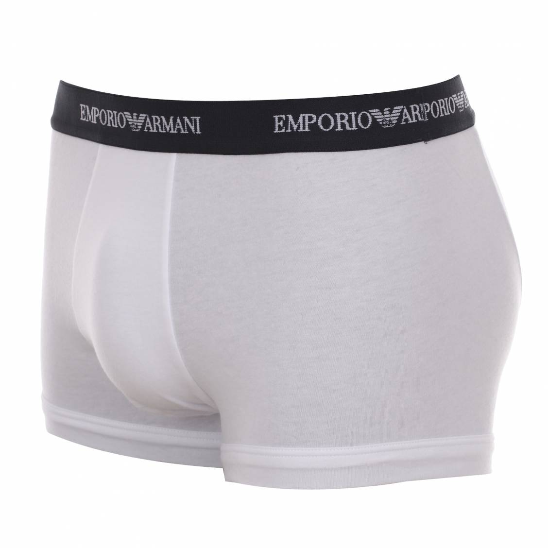 lot de shorty Emporio armani blanc