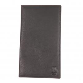 Portefeuille européen ultra plat L'aiglon 18 cartes en cuir grainé noir