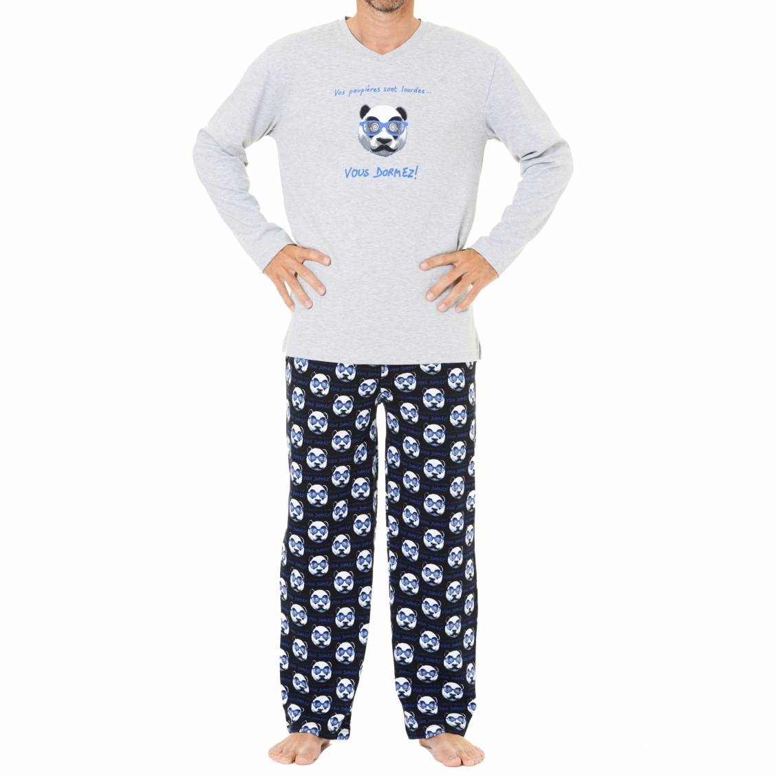 Arthur pyjama for Pyjama homme chaud
