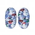 Pantoufles Arthur à motifs Oursons en peluche bleus