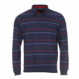 Polo homme Ethnic Blue