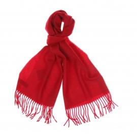 Echarpe Pierre Cardin 100% laine vierge rouge