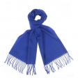 Echarpe Pierre Cardin 100% laine vierge bleu roi