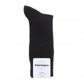 Chaussettes Burlington Dublin en coton gris anthracite