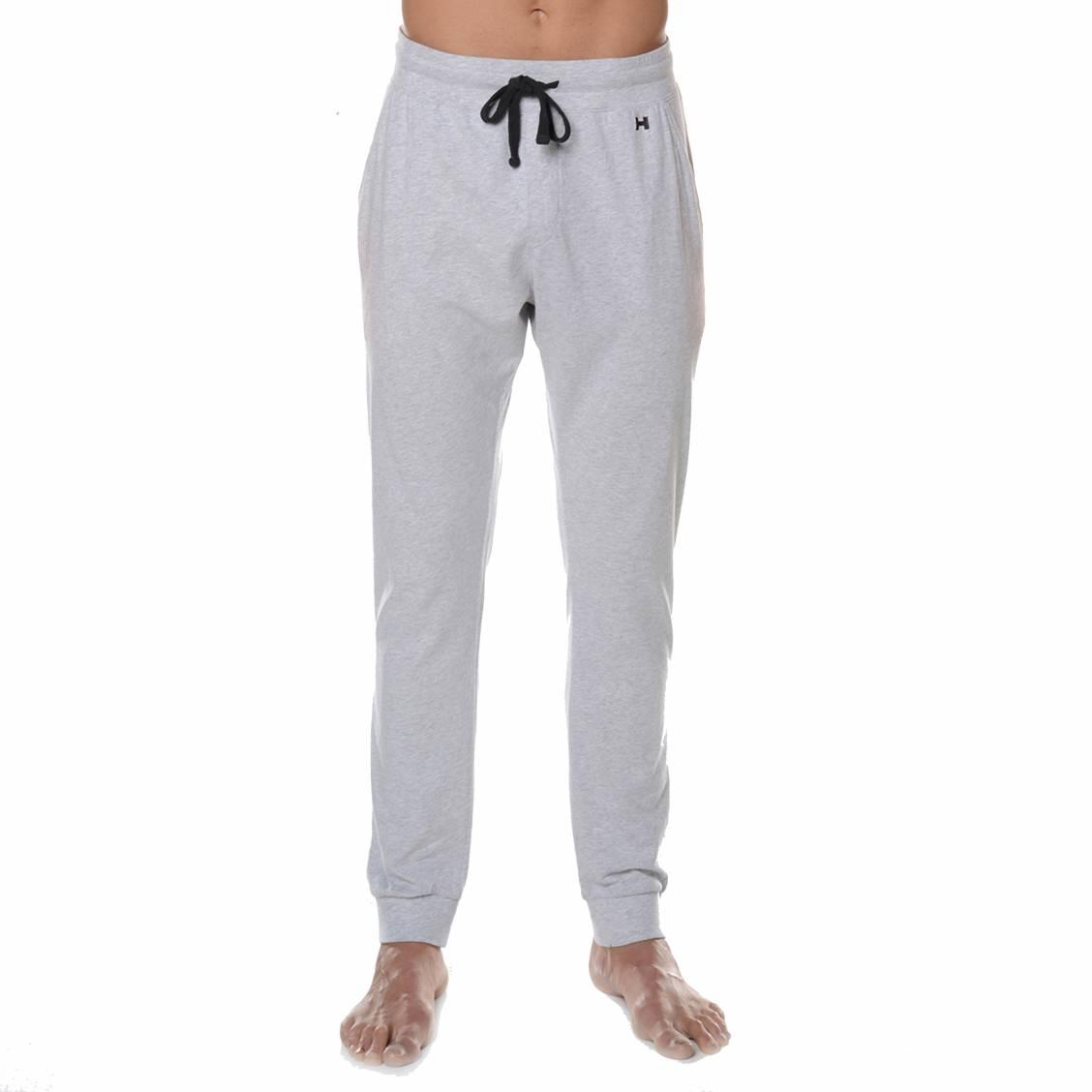 pantalon d 39 int rieur hom collectors en coton peign gris chin rue des hommes. Black Bedroom Furniture Sets. Home Design Ideas