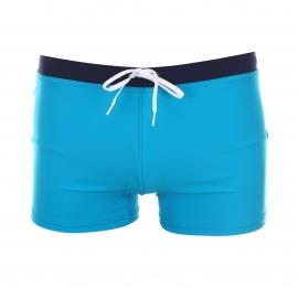 Boxer de bain Eminence bleu turquoise