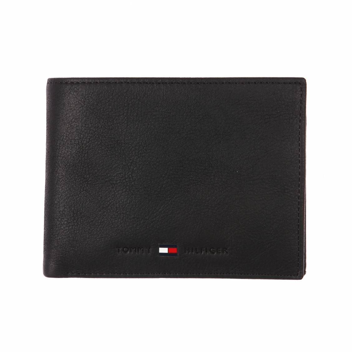 portefeuille Johnson Tommy Hilfiger noir