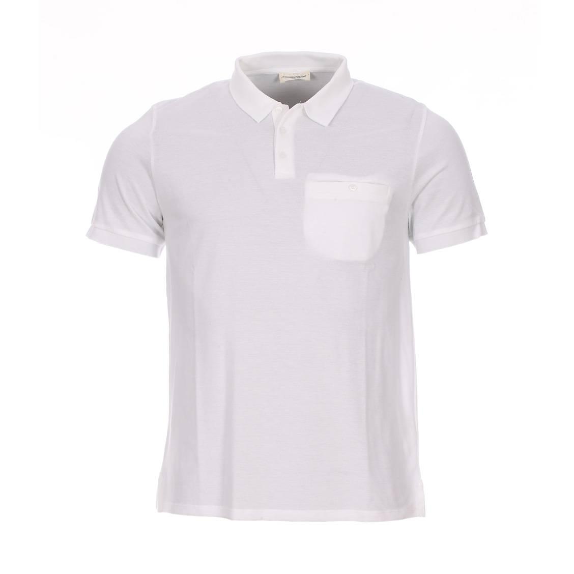 Polo dipsonville  en coton blanc