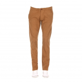Pantalon chino slim Bolton Dean Jack & Jones camel