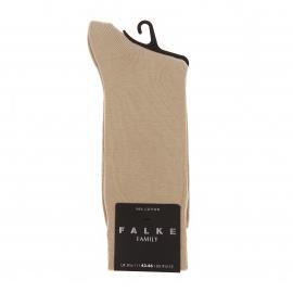 Chaussettes Family Falke en coton sable