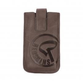 Etui pour iPhone Redskins en cuir taupe