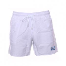 Short de bain EA7 blanc