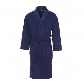 Robe de chambre polaire Hom K-Splendia bleu marine