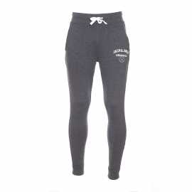 Pantalon de jogging Originals by Jack & Jones en coton gris foncé