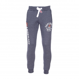 Pantalon de jogging Slim Superdry bleu denim chiné