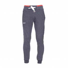 Pantalon de jogging Tipped Superdry bleu denim chiné
