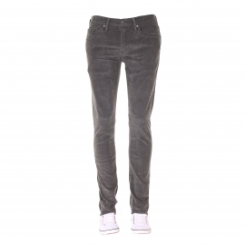 Pantalon Levi's 511 Slim Fit Eiffel Tower Pigment Cord en velours gris
