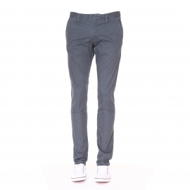 Pantalon chino slim Teddy Smith en coton stretch gris