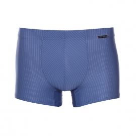 Boxer Olaf Benz bleu à fines rayures verticales bleu clair