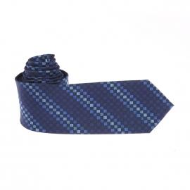 Cravate Pierre Cardin à carreaux bleus