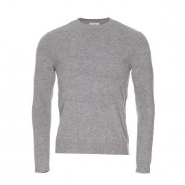 Pull Sycamore American Vintage en laine et cachemire gris clair chiné