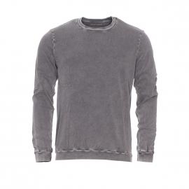 Sweat Circus State American Vintage en coton gris carbone délavé