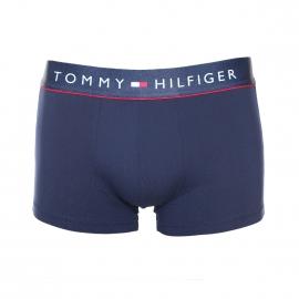 Boxer Tommy Hilfiger bleu marine en microfibre stretch