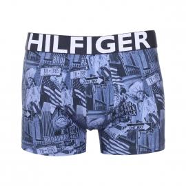 Boxer Tommy Hilfiger en coton stretch bleu marine à motifs