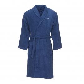 Peignoir de bain Gant en coton bleu marine