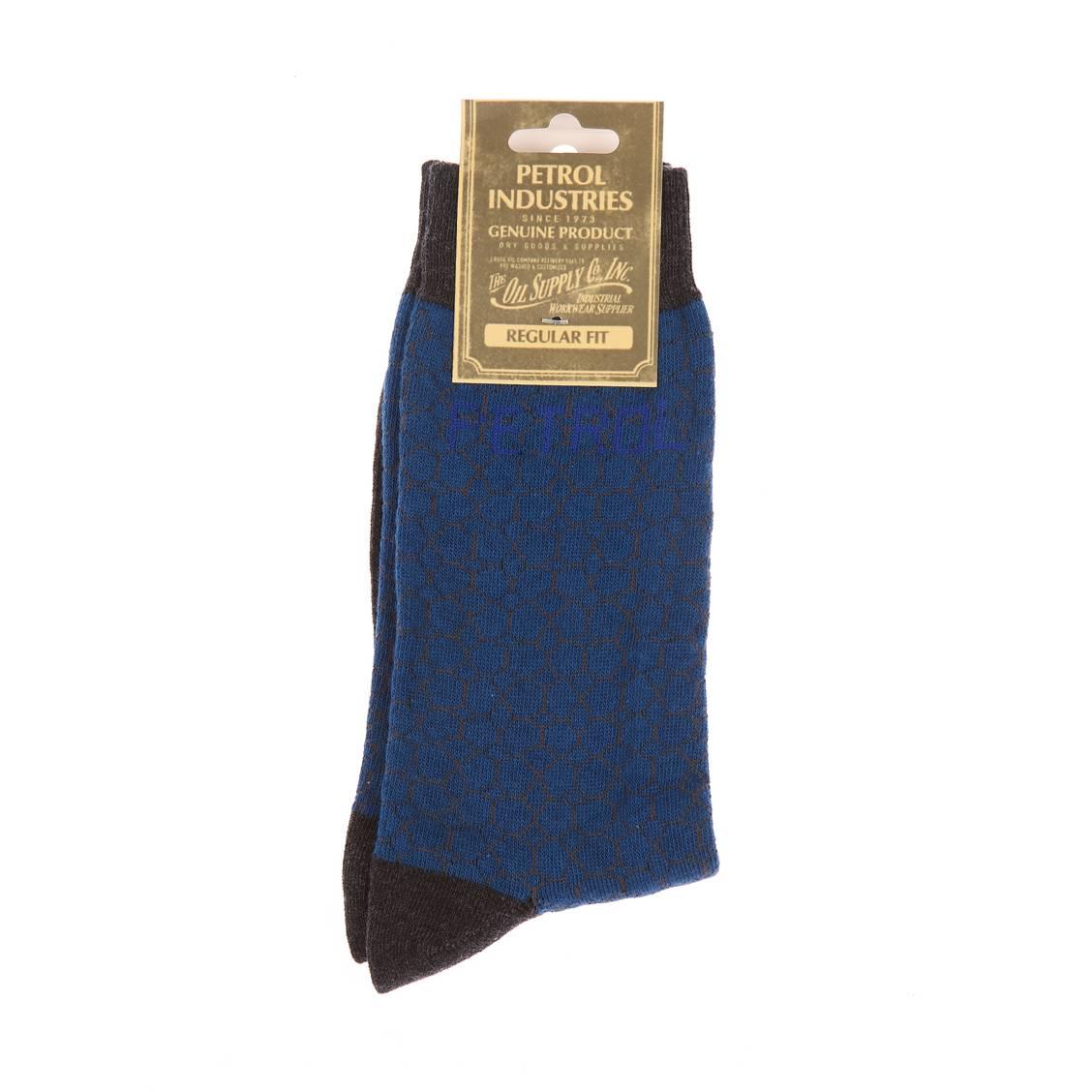 Chaussettes petrol industries bleu canard et gris fonce a for Bleu canard clair