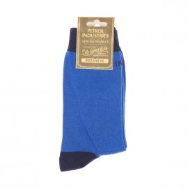 Chaussettes Petrol Industries bleu électrique et bleu marine