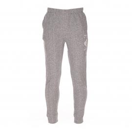 Pantalon de jogging Emporio Armani en coton gris clair chiné