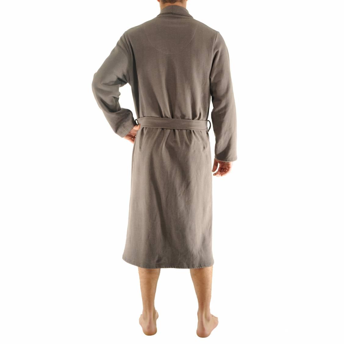 Robe de chambre gap christian cane en coton moletonn for Chambre xxl taupe