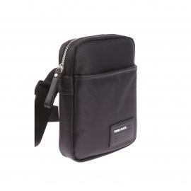 Sacoche zippée Diesel noire, spécial tablette