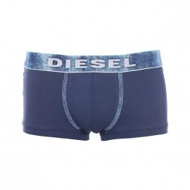 Boxer Underdenim Diesel en coton stretch bleu marine, ceinture effet jean