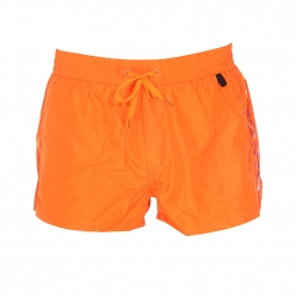 Short de bain court Diesel Fold & Go orange