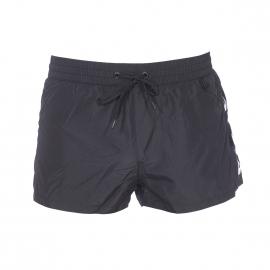 Short de bain court Diesel Fold & Go noir