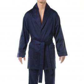 Veste d'intérieur Hom Hugo en coton bleu marine