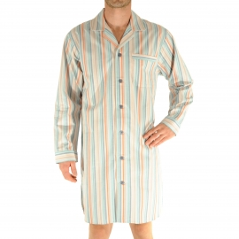 Liquette chemise Christian Cane Nouméa à rayures multicolores