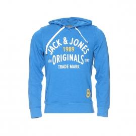Sweat à capuche Jack&Jones turquoise